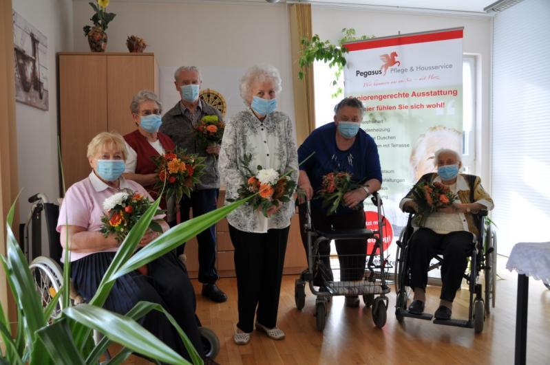Seniorenwohnen Engelsdorfer Idyll feierte 10 jähriges Jubiläum
